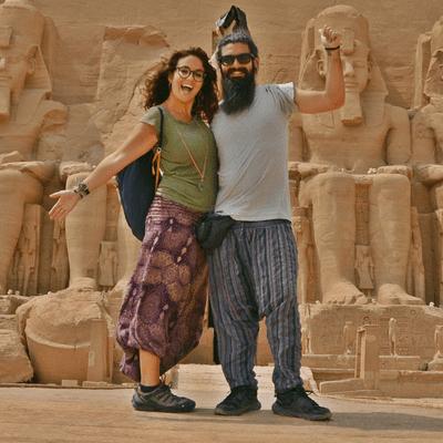 Un Gran Viaje - 18 meses de viaje por el mundo con 12€ al día, con Barbas y Fani | 25
