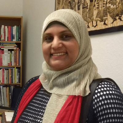 Vis à vis | Inforadio - Manal Iraki: Neuköllner Stadtteilmutter im Corona-Alltag