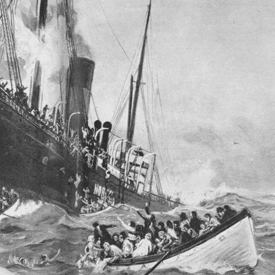 Dem der rejste ud - S/S Norge: Danmarks Titanic
