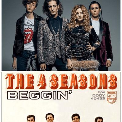 """El Recuento Musical - Rebobinando """"Beggin"""" desde el de Måneskin hasta el original de Bob Gaudio para """"The 4 Seasons""""."""