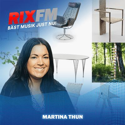 Martina Thun - Möblerna från barndomshemmet = dyrgripar idag!