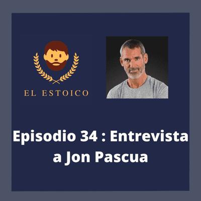 El Estoico | Estoicismo en español - #34 - Jon Pascua Ibarrola: Estoicismo, fútbol y superación personal