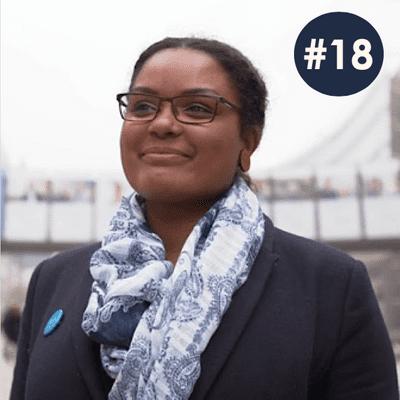 100 Frauen* - der Podcast über modernen Feminismus - #18 Miriam Mona Müller // UN Women // Resolution Frauen Frieden Sicherheit
