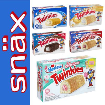 snäx - Der Knabberpodcast | Snacks und Knabbereien aus aller Welt - 010 XXL | Hostess - 5x Twinkies (Nicht Nachmachen!) | USA