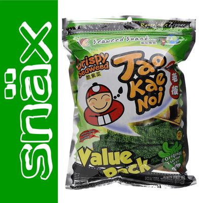 snäx - Der Knabberpodcast | Snacks und Knabbereien aus aller Welt - 002 | Tao Kae Noi - Crispy Seaweed | Thailand
