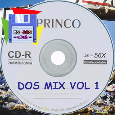 DOS MIX Vol 01 - Música de juegos y demoscene... Y algo más.