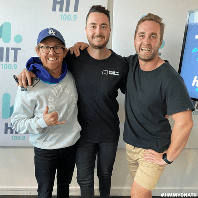 Jimmy & Nath - Hit Hobart 100.9 - MITCHY MCPHERSON: Maya's 1st Birthday & The Stay ChatTY Cup