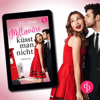 Buchplausch - Millionäre Küsst Man Nicht HC Hope