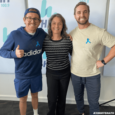 Jimmy & Nath - Hit Hobart 100.9 - SASS: Jill Maxwell Chats About Wear Teal Tuesday
