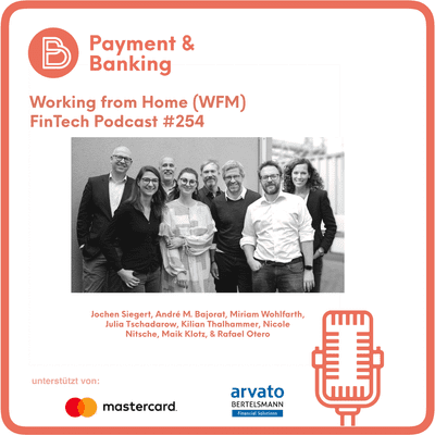 Payment & Banking Fintech Podcast - Working from Home
