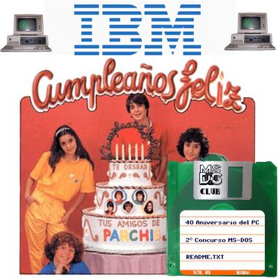 MS-DOS CLUB – Vol 16 - 40 aniversario del PC y 2º Concurso de MS-DOS