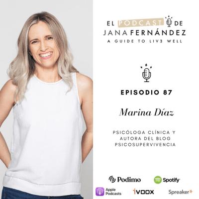 El podcast de Jana Fernández - Cómo vencer a los enemigos psicológicos del descanso a base de disciplina, organización y rutinas, con Marina Díaz