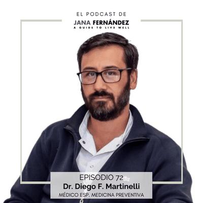 El podcast de Jana Fernández - Ancestralización: cómo retar a nuestro organismo para conseguir una salud crónica, con el dr. Diego F. Martinelli