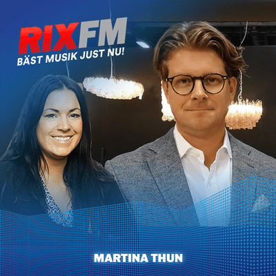 Martina Thun - Rickard Thunér om inspelningsdramat!