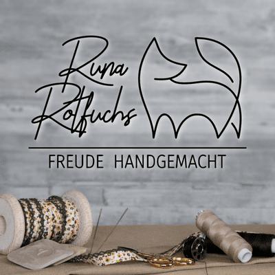 Runa Rotfuchs - Freude handgemacht - Baumwolle und Geschenke