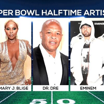 Hip Hop Is Taking Over Superbowl 56 With Dr. Dre, Snoop Dogg, Eminem, & More...