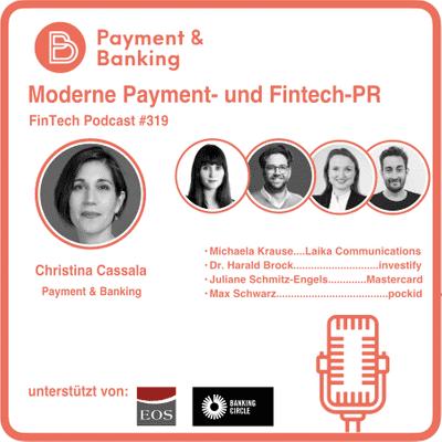 Payment & Banking Fintech Podcast - Moderne Payment- und Fintech-Pressearbeit