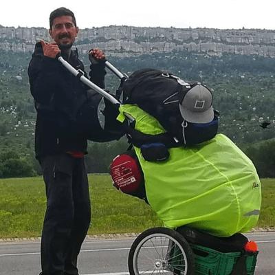 Un Gran Viaje - La interrumpida vuelta al mundo a pie y en bici de Franc Molinos | 88