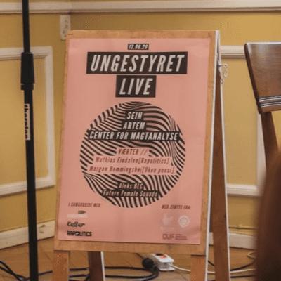 Skæbnefortællinger - Ungestyret Live fra Vila Kultur