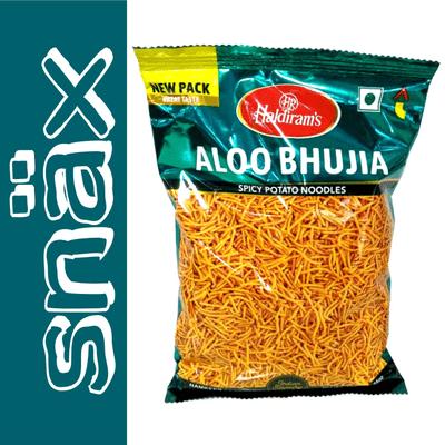 snäx - Der Knabberpodcast | Snacks und Knabbereien aus aller Welt - 009 | Haldirams - Aloo Bhujia | Indien