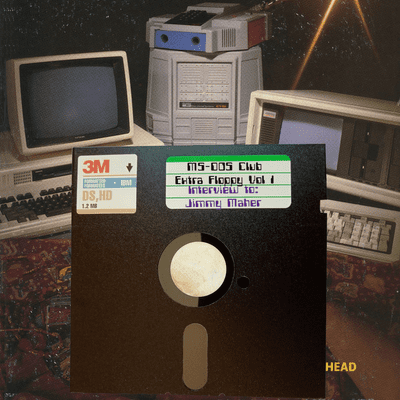 MS-DOS CLUB - MS-DOS CLUB – Extra Floppy Vol 1 – Interview with Jimmy Maher (in English)