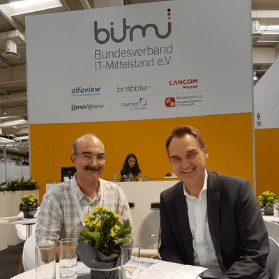 Insider Research im Gespräch - CEBIT 2018: Wie steht es um die DSGVO? Gespräch mit Dr. Oliver Grün, Präsident BITMi