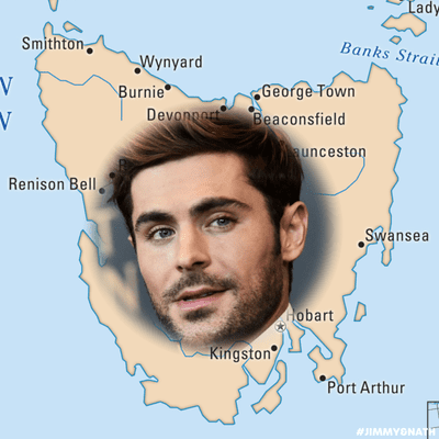 Jimmy & Nath - Hit Hobart 100.9 - EXCLUSIVE: Details On Zac Efron's Stay In Hobart