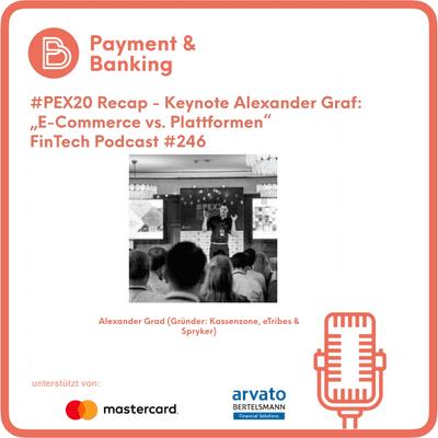 Payment & Banking Fintech Podcast - PEX20 Recap - E-Commerce vs. Plattformen