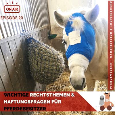 Pferdewissen - ganzheitlich & inspirierend mit Sandra Fencl - Wichtige Rechtsthemen & Haftungsfragen für Pferdebesitzer, Interview mit Dr. Albrecht Schöllhorn-Gaar