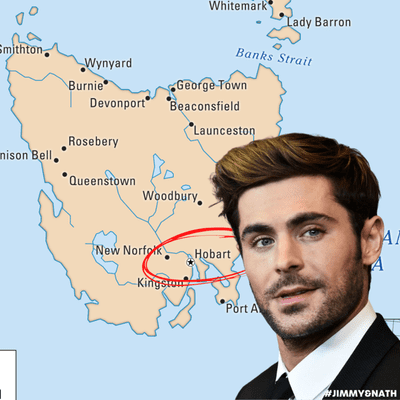 Jimmy & Nath - Hit Hobart 100.9 - CONFIRMED: Zac Efron Is In Hobart!