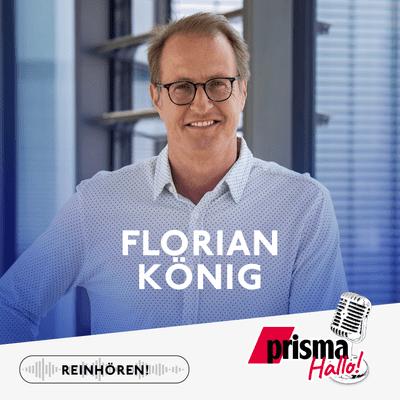 HALLO! – der prisma-Podcast - Florian König – Formel 1, Emotionen und der Doppelpass