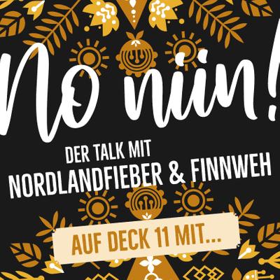 """No Niin! Der Podcast mit Nordlandfieber & Finnweh - Auf Deck 11 mit Hendrik Morkel von """"Hiking in Finland"""""""