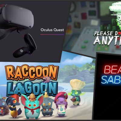 VR Podcast - Alles über Virtual - und Augmented Reality - E154 - Quest, oder die Folge die sich Nanni nicht anhören wird