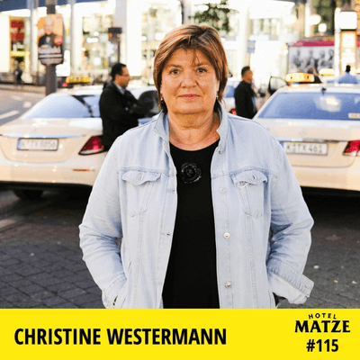 Hotel Matze - Christine Westermann – Was ist dein Lebensplan?